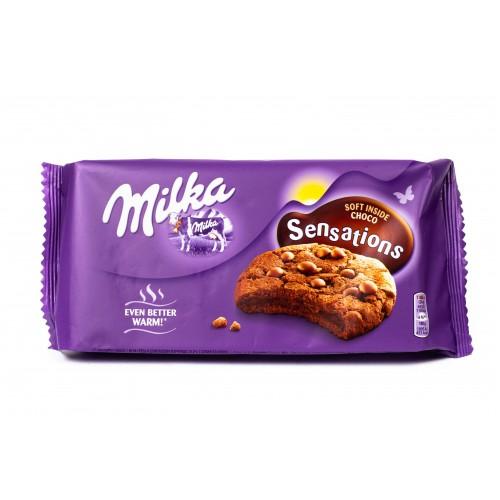 Печенье Milka Sensations Choco Black