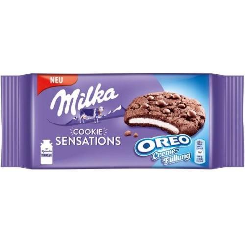 Печенье Milka Oreo Sensation 156g