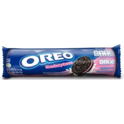 Oreo Cookies Strawberry Cream 133 g