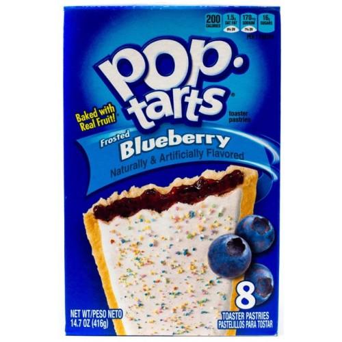 Pop Tarts Frosted Blueberry (Печенье с черничной начинкой)