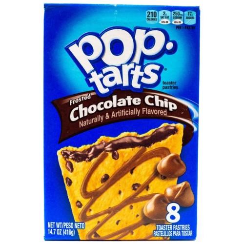 Печенье Pop Tarts Frosted Chocolate Chip (Печенье с шоколадной начинкой)