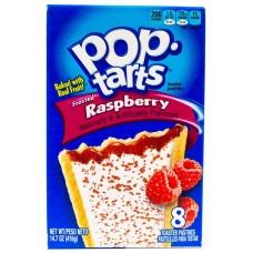 Pop Tarts Frosted Raspberry (Печенье с малиновой начинкой)