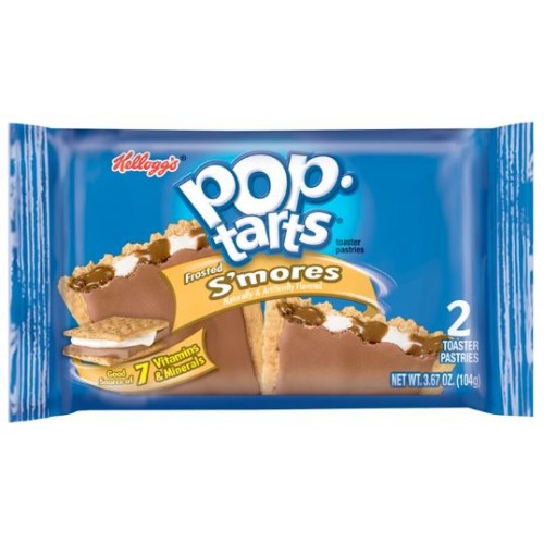 Pop Tarts Frosted S'Mores (Шоколад с зефиром с глазурью)