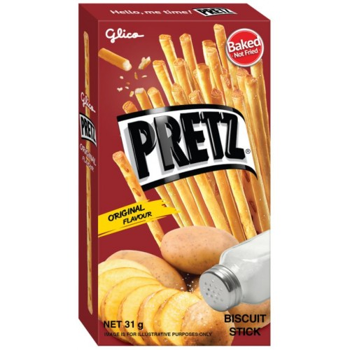 Палочки PRETZ Baked Potatoes, 23 g.