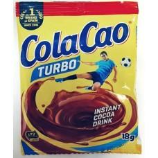 Быстрорастворимый шоколадный напиток Cola Cao Turbo 18 гр.