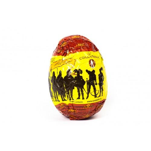 """Шоколадное яйцо с сюрпризом """"Солдатики. Первая мировая война"""""""