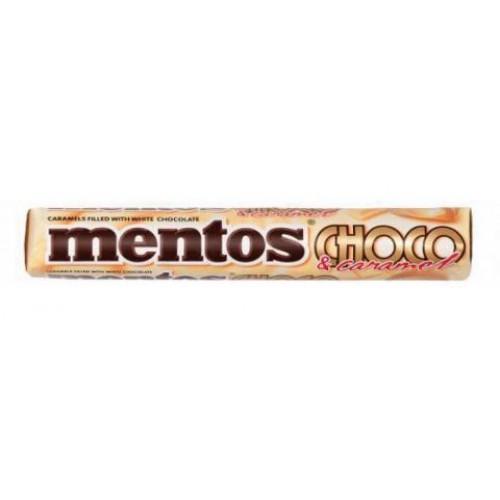 Ментос со вкусом белого шоколада с карамелью