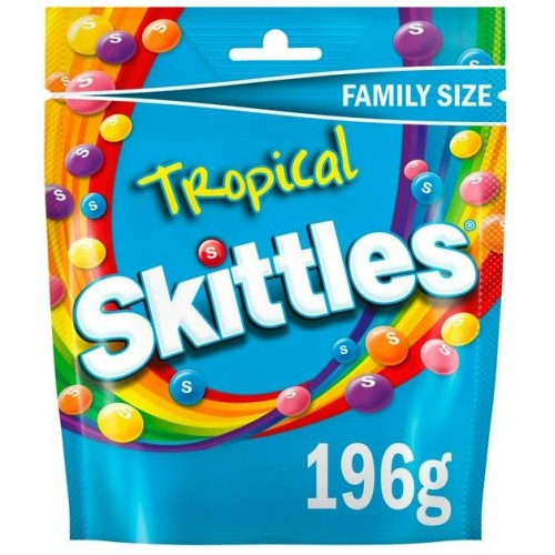 Skittles Тропический пунш 196 g
