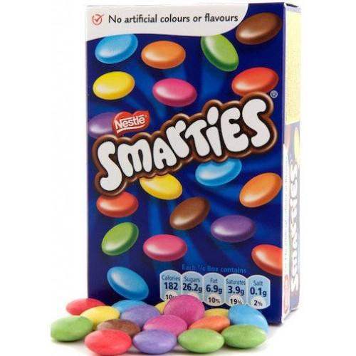 Шоколадное драже Nestle Smarties Box 120г