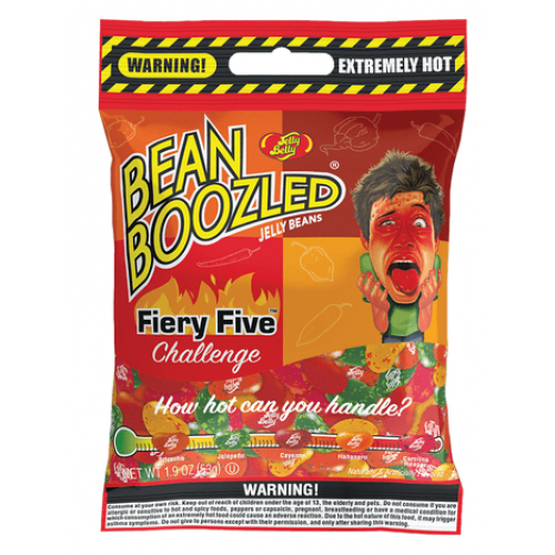 Jelly Belly Bean Boozled Flaming Five 54 g.
