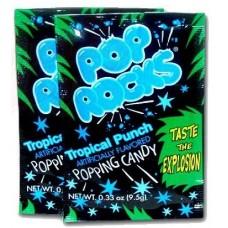 Шипучие конфеты Pop Rocks Tropical Punch