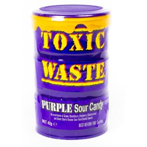 Конфеты Toxic Waste Purple (Супер кислые леденцы Токсик Вейст)