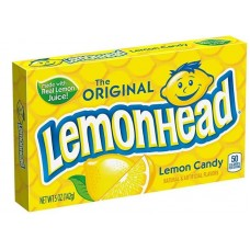 Леденцы Lemonhead Original Lemon