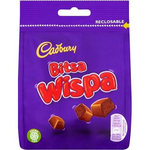 Шоколадные конфеты Cadbury Wispa Bits 95g