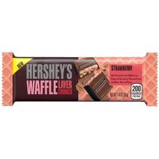 HERSHEY'S Waffle Layer Crunch Strawberry 39гр.