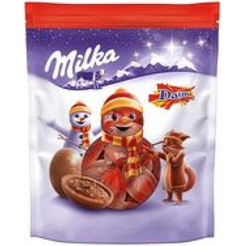 Шоколадные шарики Milka Бонбонс Дайм