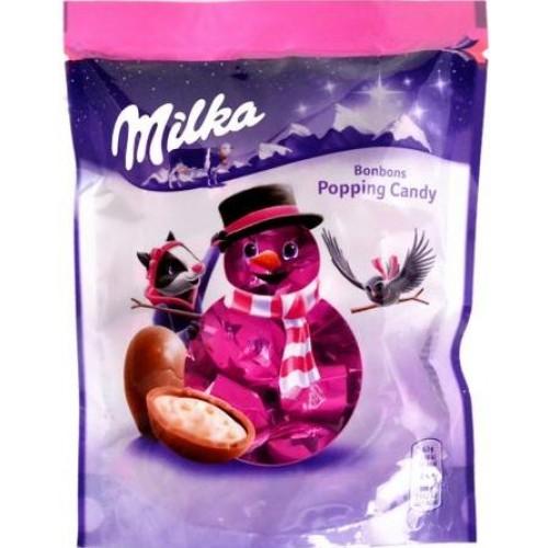 Шоколадные шарики Milka Бонбонс Поппинг