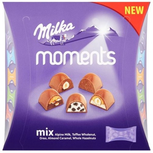 Шоколадные конфеты Milka Moments Toffee Mini Mix