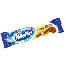 Батончик Milky Way Crispy Rolls