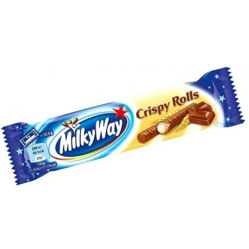 Батончик Milky Way Crispy Rolls