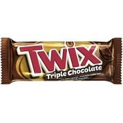 Шоколадный батончик Twix Triple Chocolate 40гр.