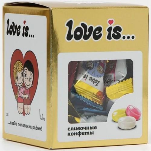 Жевательные конфеты Love Is Золото, 105 g.