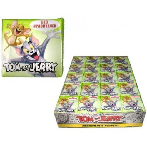 Жевательные конфеты  Tom and Jerry Яблоко