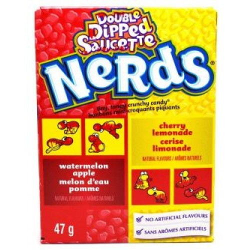 Драже Wonka Nerds Lemonade Cherry & Apple Watermelon
