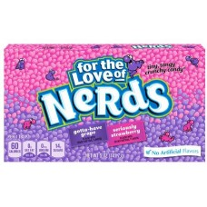Драже Wonka Nerds Strawberries and Grapes 141,7g
