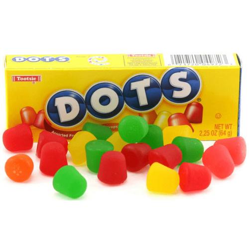 Жевательные конфеты Дотс 64 гр.