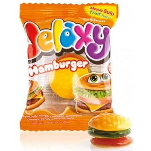 Жевательный мармелад Jelaxy Burger