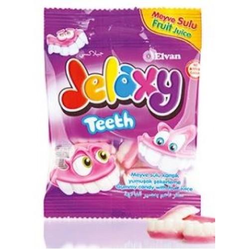 Жевательный мармелад Jelaxy Teeth