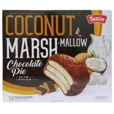 Coconut Marshmallow Chocolate Pie 300