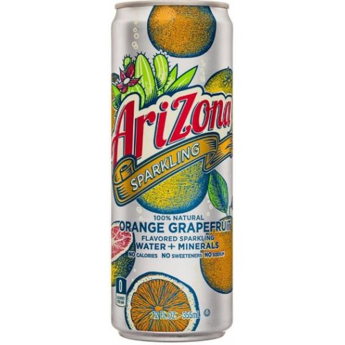 Arizona Sparkling Orange Grapefruit