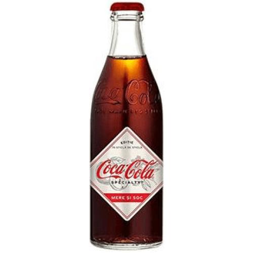 Coca-Cola Specialty Apple and Elderflow 0.25 л