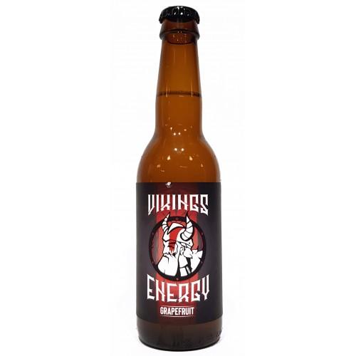 """Энергетический напиток VIKINGS ENERGY """"Энергия викинга"""" со вкусом грейпфрута 330 мл"""