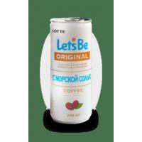 Кофе LOTTE Lets be с морской солью 240 мл