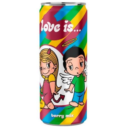 """Напиток """"Love is"""" Микс Вкусов 330 мл."""