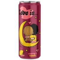 """Напиток """"Love is"""" Вишня и Лимон 330 мл."""