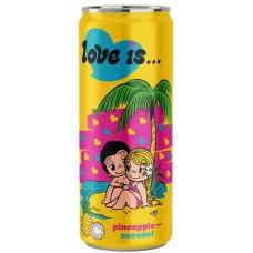"Напиток ""Love is"" Ананас и Кокос 330 мл."