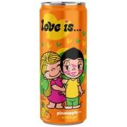 "Напиток ""Love is"" Ананас и Апельсин 330 мл."