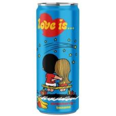 """Напиток """"Love is"""" Клубника и Банан 330 мл."""