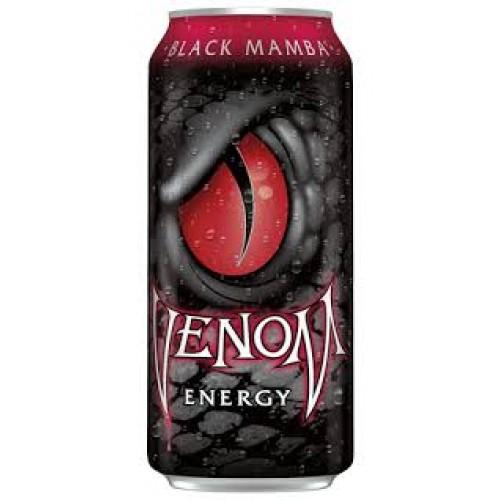 Газированный напиток тонизирующий Venom Black Mamba
