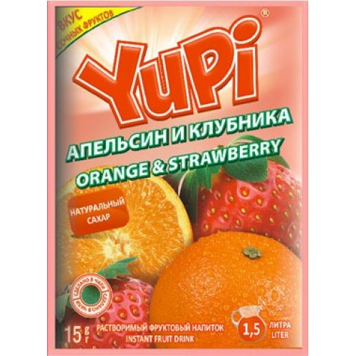 YUPI Апельсин-клубника