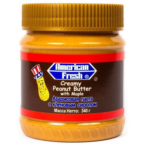 American Fresh with Maple (Арахисовая паста с кленовым сиропом)