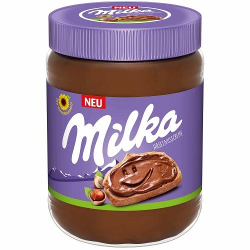 Шоколадно-ореховая паста Милка