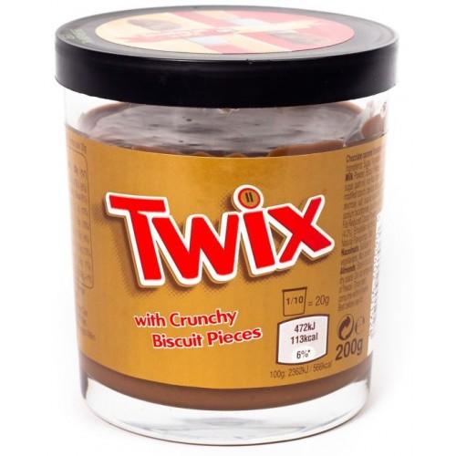 Twix With Crunchy Biscuit Pieces (Паста твикс с хрустящими бисквитными кусочками)