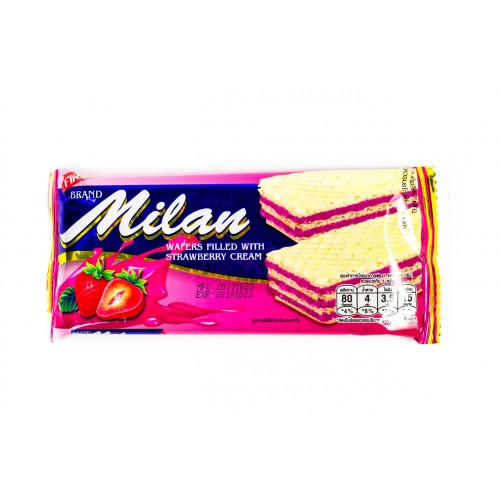 Milan Wafer Strawberry