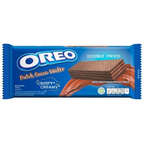 Oreo Dutch Cocoa Wafer Double Choco, 140,4 g.