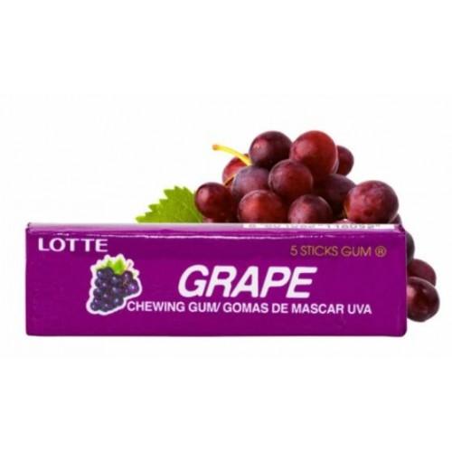 Жевательная резинка Lotte Grape, 12,5 g.